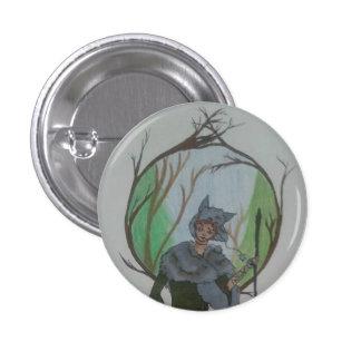 Little Wolf 3 Cm Round Badge