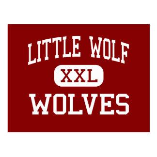 Little Wolf - Wolves - High - Manawa Wisconsin Postcard