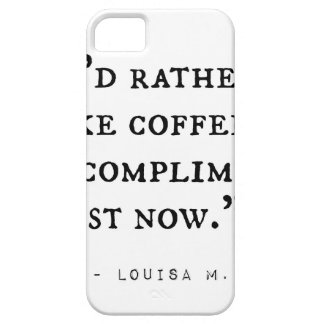 Little Women Quotes iPhone 5 Cover
