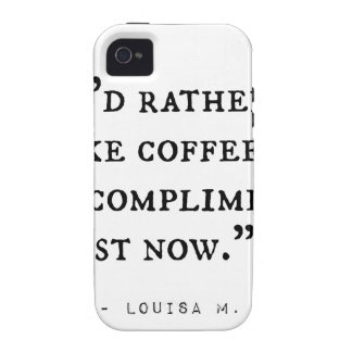 Little Women Quotes iPhone 4/4S Cover