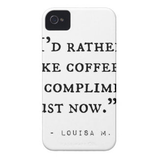 Little Women Quotes iPhone 4 Case-Mate Case