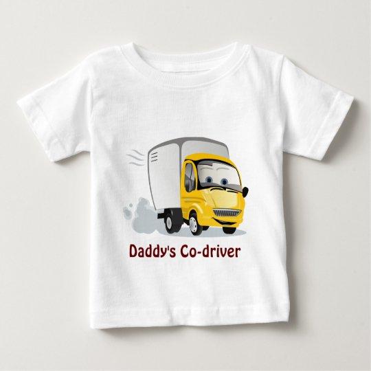 Little Yellow Cartoon Truck for Kids! Baby T-Shirt