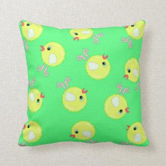 little yellow chicken texture cushion