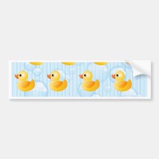 Little Yellow Ducks Bumper Stickers