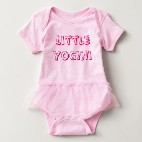 Little Yogini - Baby Yoga Clothes Baby Bodysuit