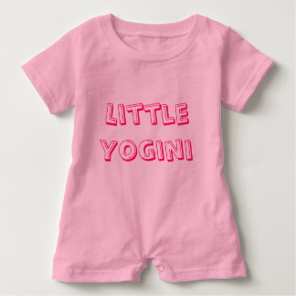 Little Yogini - Baby Yoga Clothes Infant Romper