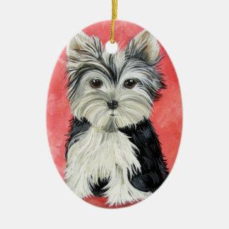 Little Yorkie Ornnament Christmas Ornament