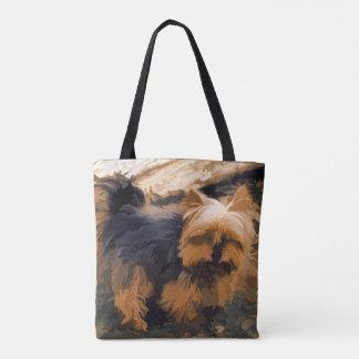 Little Yorkie   - Yorkshire Terrier Dog Tote Bag