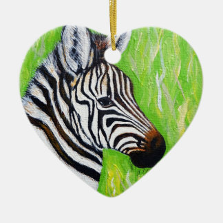 Little Zebra Christmas Ornament