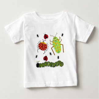 Littlebeane Bugs Insects  Ladybug Ant Caterpillar Baby T-Shirt