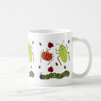 Littlebeane Bugs Insects  Ladybug Ant Caterpillar Coffee Mug