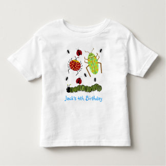 Littlebeane Bugs Insects  Ladybug Ant Caterpillar Toddler T-Shirt