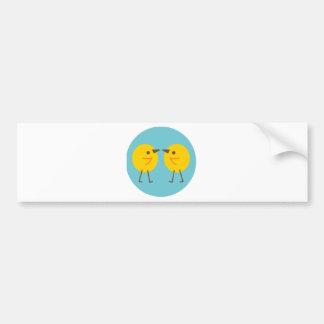 LittleChicken2 Bumper Sticker