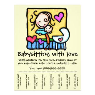 Babysitting Flyers & Leaflets | Zazzle.co.uk