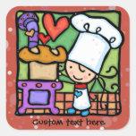 LittleGirlie Chef loves to bake bread  DK Rust