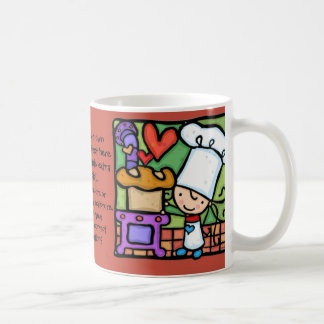 LittleGirlie loves to bake artisan bread bakery Coffee Mug