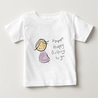 littlelady birthday celebration gifts baby T-Shirt