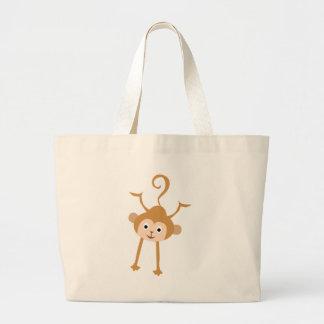 LittleMonkey7 Jumbo Tote Bag