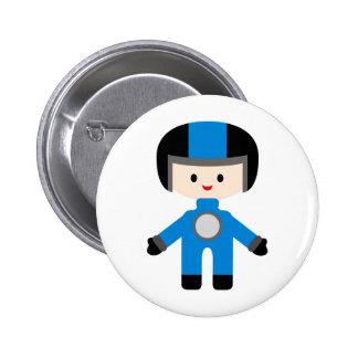 LittleRacersP16 6 Cm Round Badge