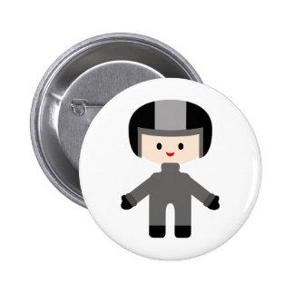 LittleRacersP17 6 Cm Round Badge