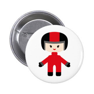 LittleRacersP21 6 Cm Round Badge