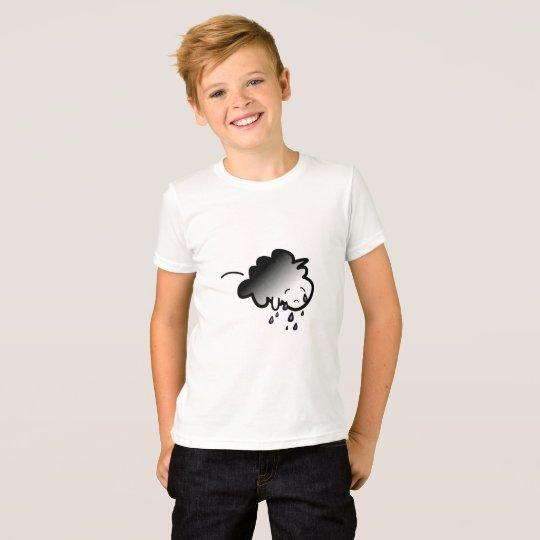 Littlest Cloud Crying Kids T T-Shirt