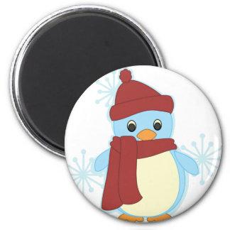 Littlest Penguin 6 Cm Round Magnet