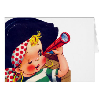 Littlest Pirate Greeting Cards