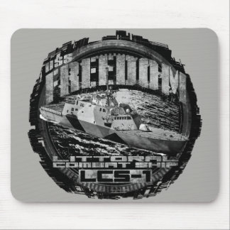 Littoral combat ship Freedom Mousepad Mousepad