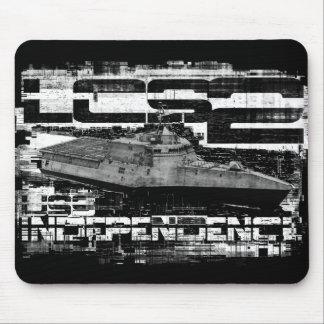 Littoral combat ship Independence Mousepad