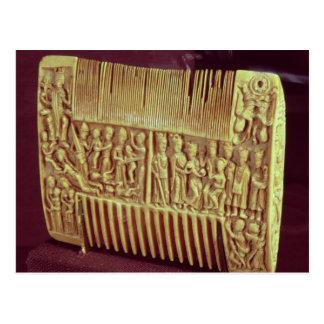 Liturgical comb, School of St.Albans, c.1120 Post Card