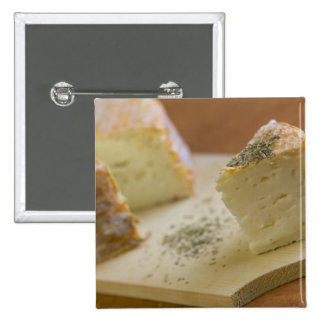 Livarot - Normandy - France - AOC cheese For 15 Cm Square Badge