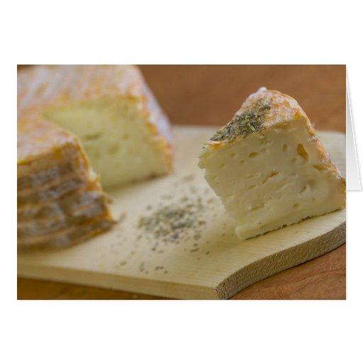 Livarot - Normandy - France - AOC cheese For Card