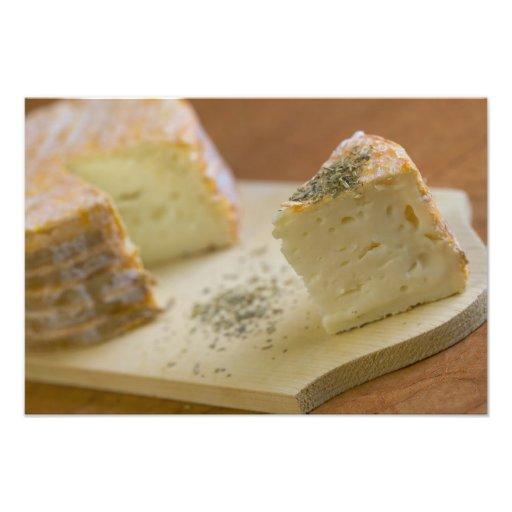 Livarot - Normandy - France - AOC cheese For Photograph