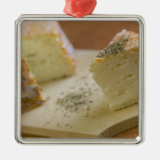 Livarot - Normandy - France - AOC cheese For Silver-Colored Square Decoration