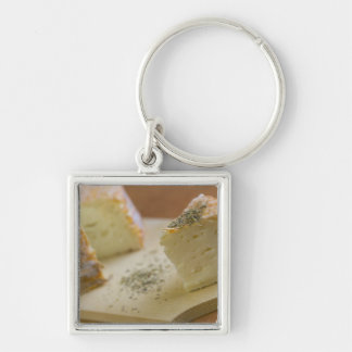 Livarot - Normandy - France - AOC cheese For Silver-Colored Square Key Ring