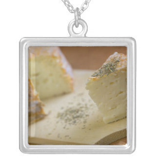 Livarot - Normandy - France - AOC cheese For Square Pendant Necklace