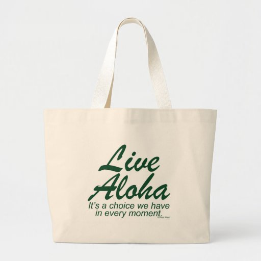 Live Aloha Stacked Tote Bag