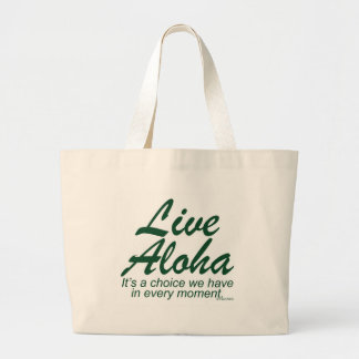 Live Aloha Stacked Tote Bag
