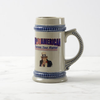 Live American idol Uncle Sam Stien Coffee Mugs