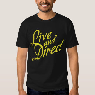 Live and Direct - Yellow Tshirts
