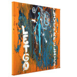 Live And Let Go (Wrapped Canvas) Stretched Canvas Print