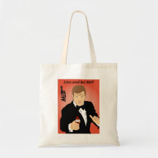 Live and Let MIP spoof movie poster bag