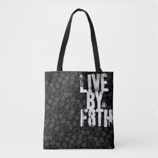 LIVE BY F8TH TOTE BAG