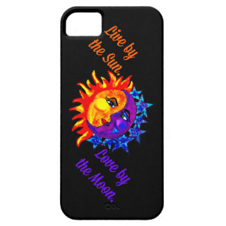Live by the Sun Love by the moon phone case/cover iPhone 5 Case