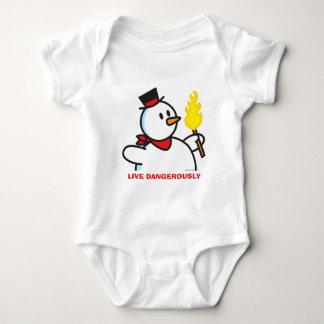 Live Dangerously Baby Bodysuit