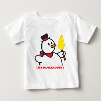Live Dangerously Baby T-Shirt