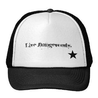 Live Dangerously Mesh Hat