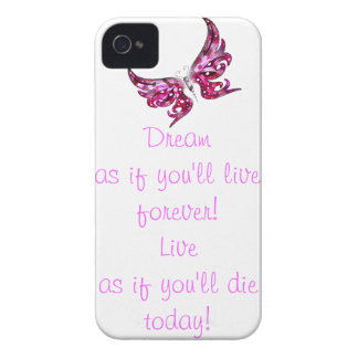 Live & Dream iPhone 4 Cover
