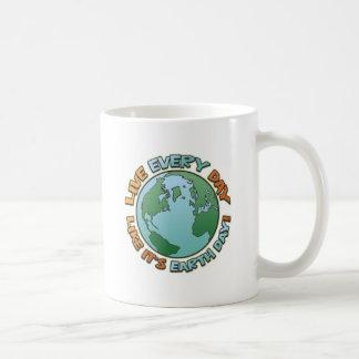Live Every Day Earth Day Coffee Mug
